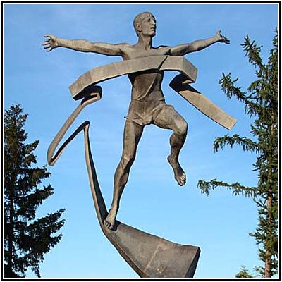 Скульптура Марафонец