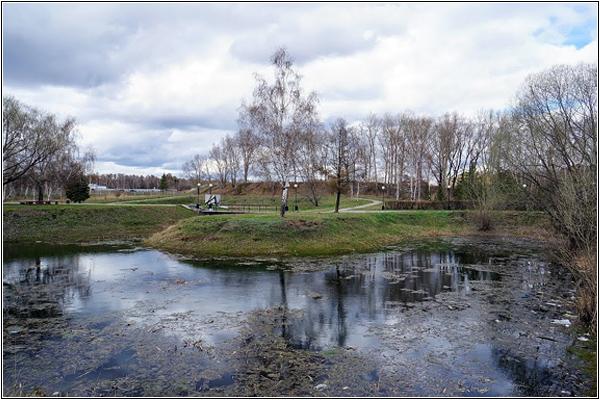 Лебединое озеро в Омске