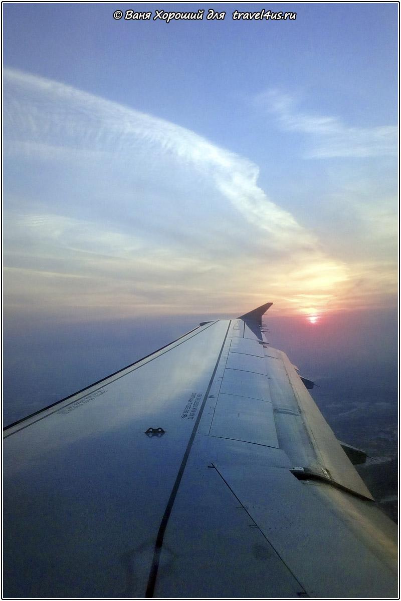 Полет домой
