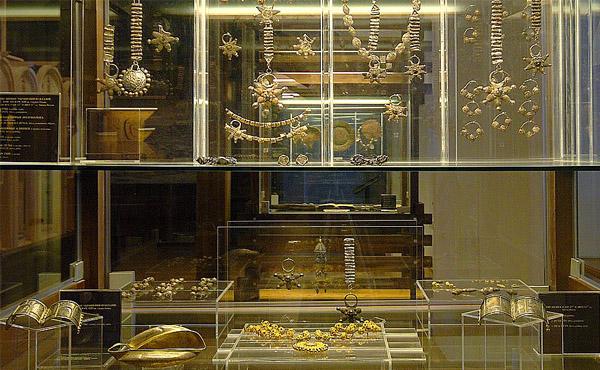 Экспонаты музея Рязанского кремля