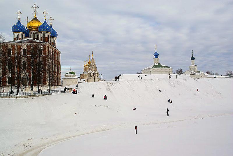 Кремлевский вал Рязани