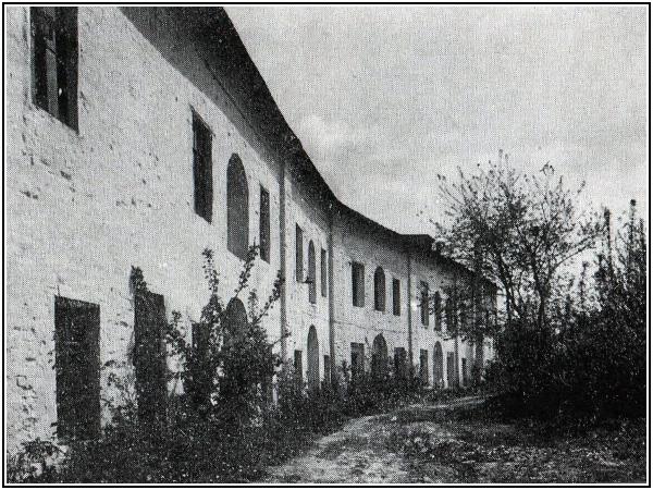 Каменная житница XVII века