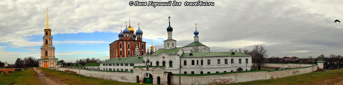 Панорама Рязанского кремля