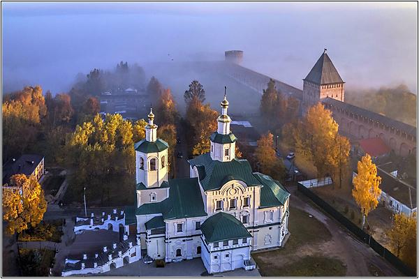 Спасо-Преображенский Авраамиев монастырь в Смоленске