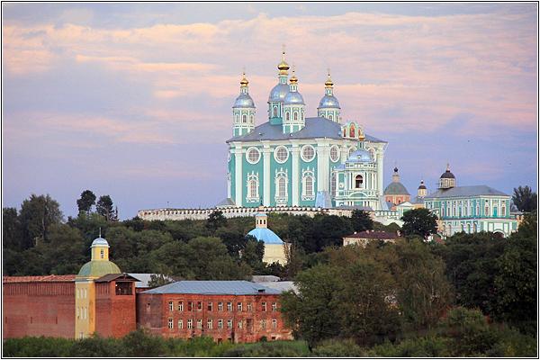 Русские города: Смоленск