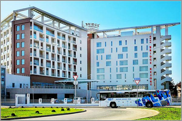 Отель Bridge Resort в Сочи — самый южный отель России