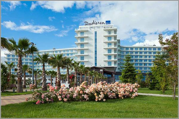 Отель Radisson Blu Paradise Resort & SPA в Сочи