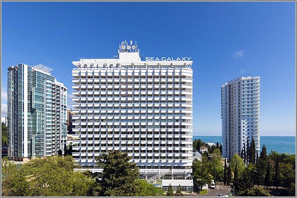 Отель Sea Galaxy Hotel Congress and SPA в Сочи