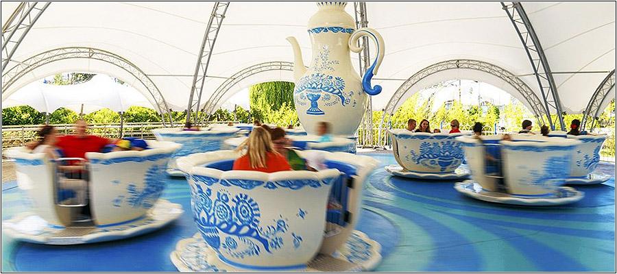 Аттракцион Чайные чашки в Сочи Парке