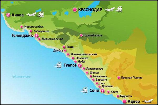 Черноморские курорты России