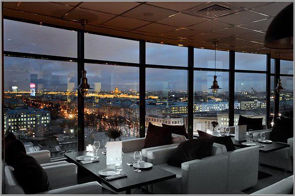 Панорамный ресторан в Санкт-Петербурге