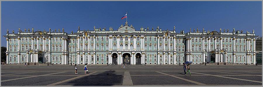7 чудес России: Дворцовая площадь с Зимним дворцом (Санкт-Петербург)