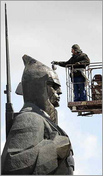 Реконструкция Памятника красноармейцу в Ставрополе