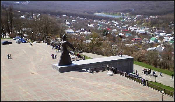 Солдатская площадь в Ставрополе