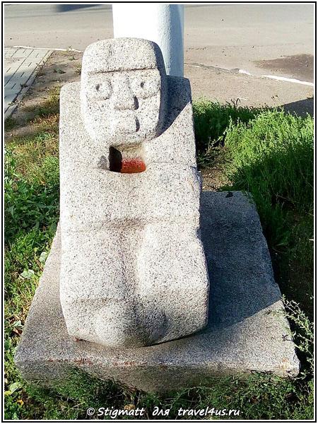 Городская скульптура в Твери