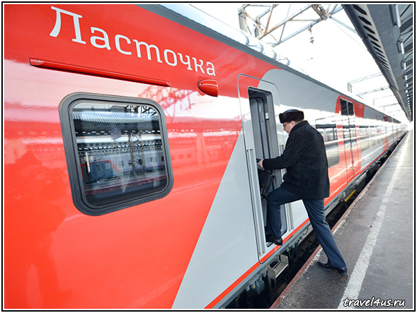 Ласточка Москва-Тверь