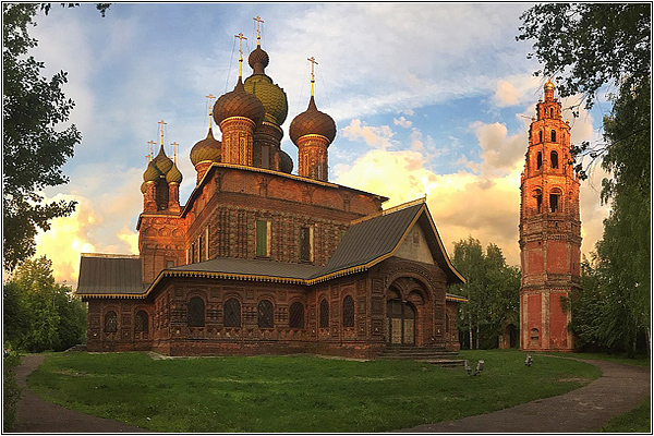 Древние храмы Ярославля