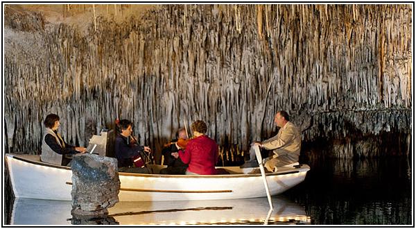 Концерт классической музыки в Пещерах Дракона