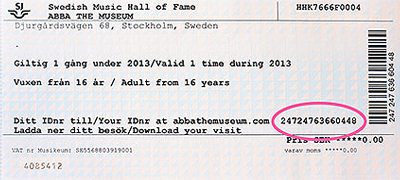 Билет в музей АББА (ABBA The Museum)