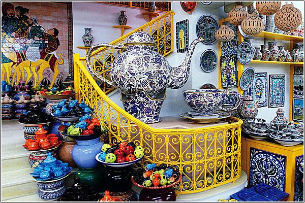 Керамика из Туниса