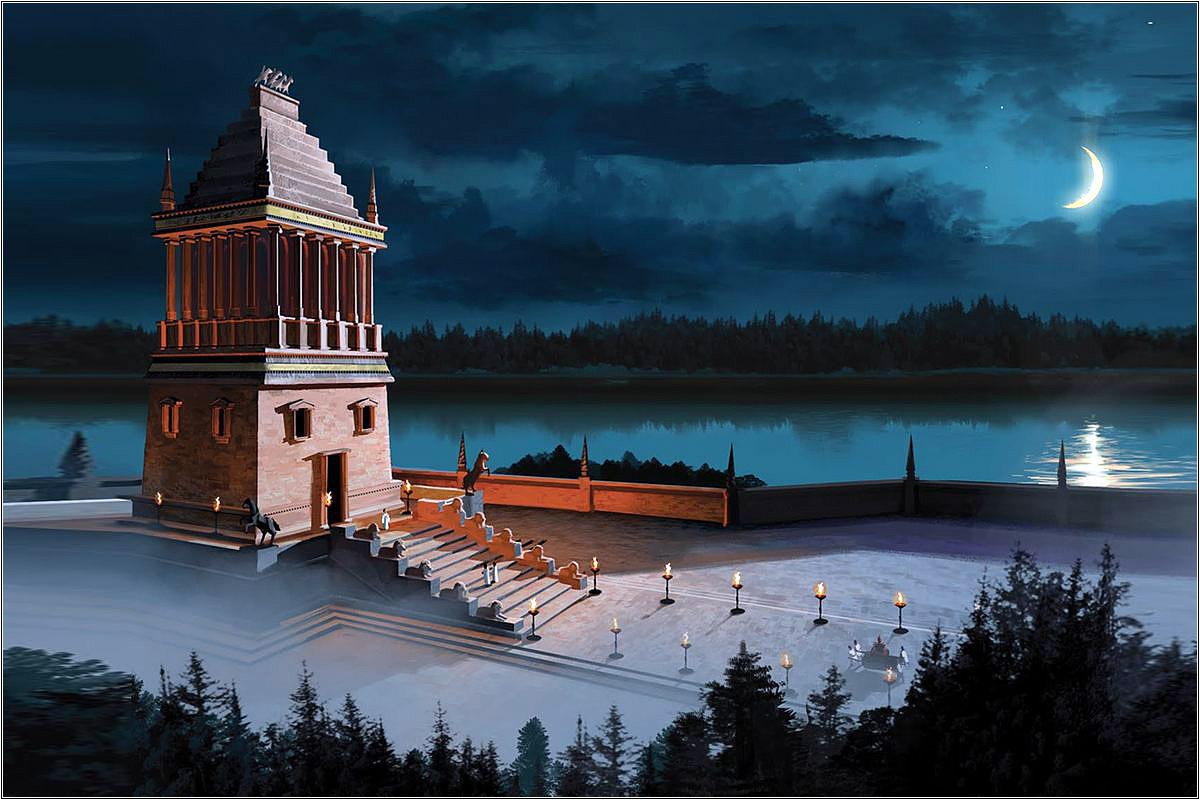 Галикарнасский мавзолей — чудо света