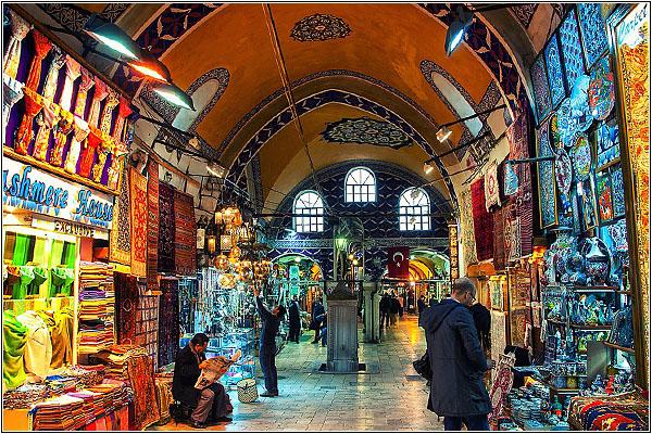 Поторгуйтесь на Большом Базаре в Стамбуле