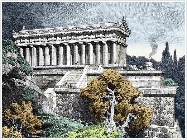 Семь чудес света: Храм Артемиды в Эфесе