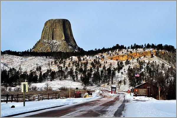 Башня Дьявола национальный парк