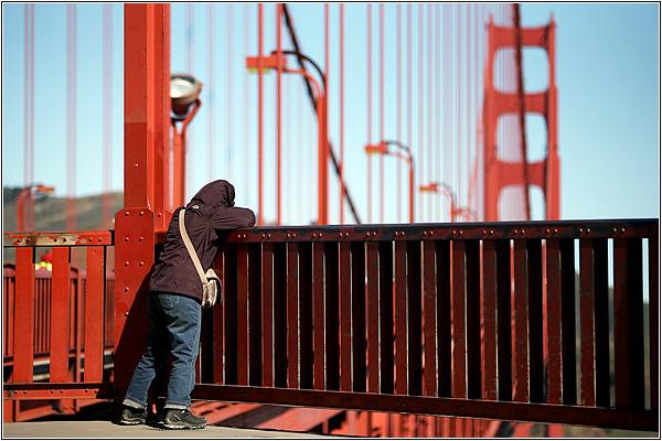 Золотые Ворота — мост самоубийц