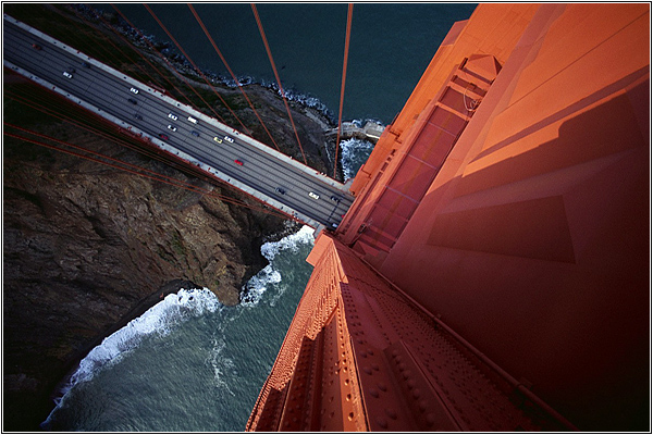 Thought I could fly, so I stepped off the Golden Gate