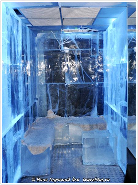 Ледяные стены и сидения