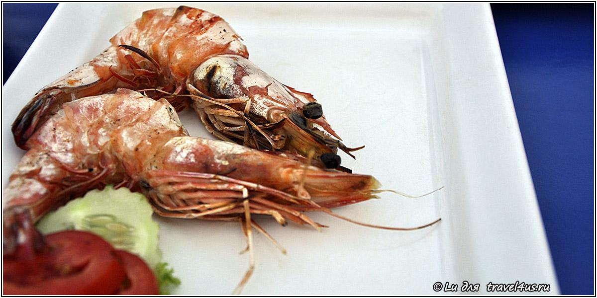Съешь королевскую креветку в Таиланде!