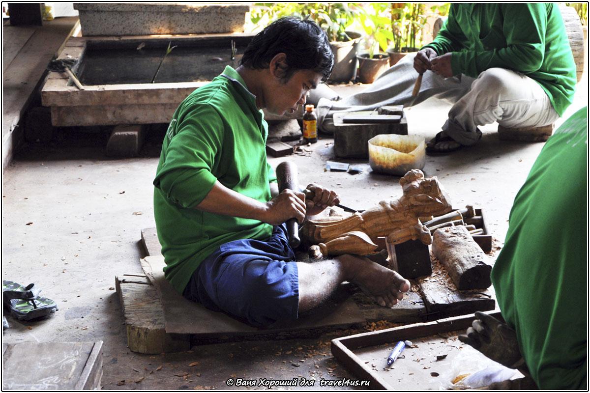 Создание деревянных скульптур