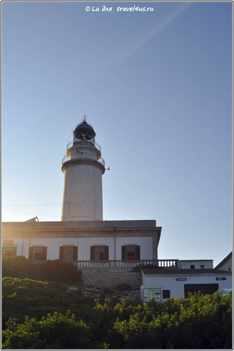 Маяк на мысе Форментор (Lighthouse of Cap de Formentor)