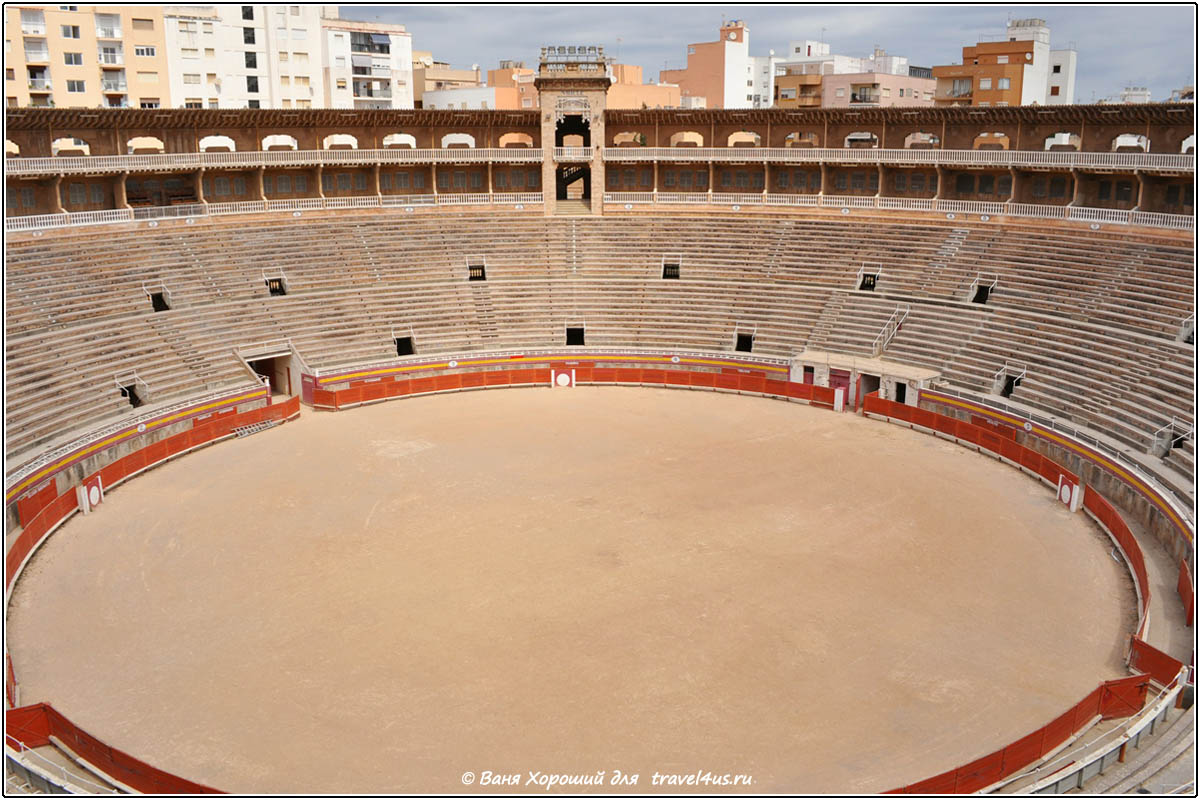 Арена для боя быков Plaza de Toros Coliseo Balear
