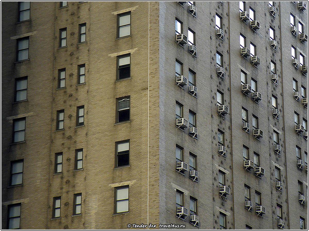 Нью-Йорк - каменные джунгли