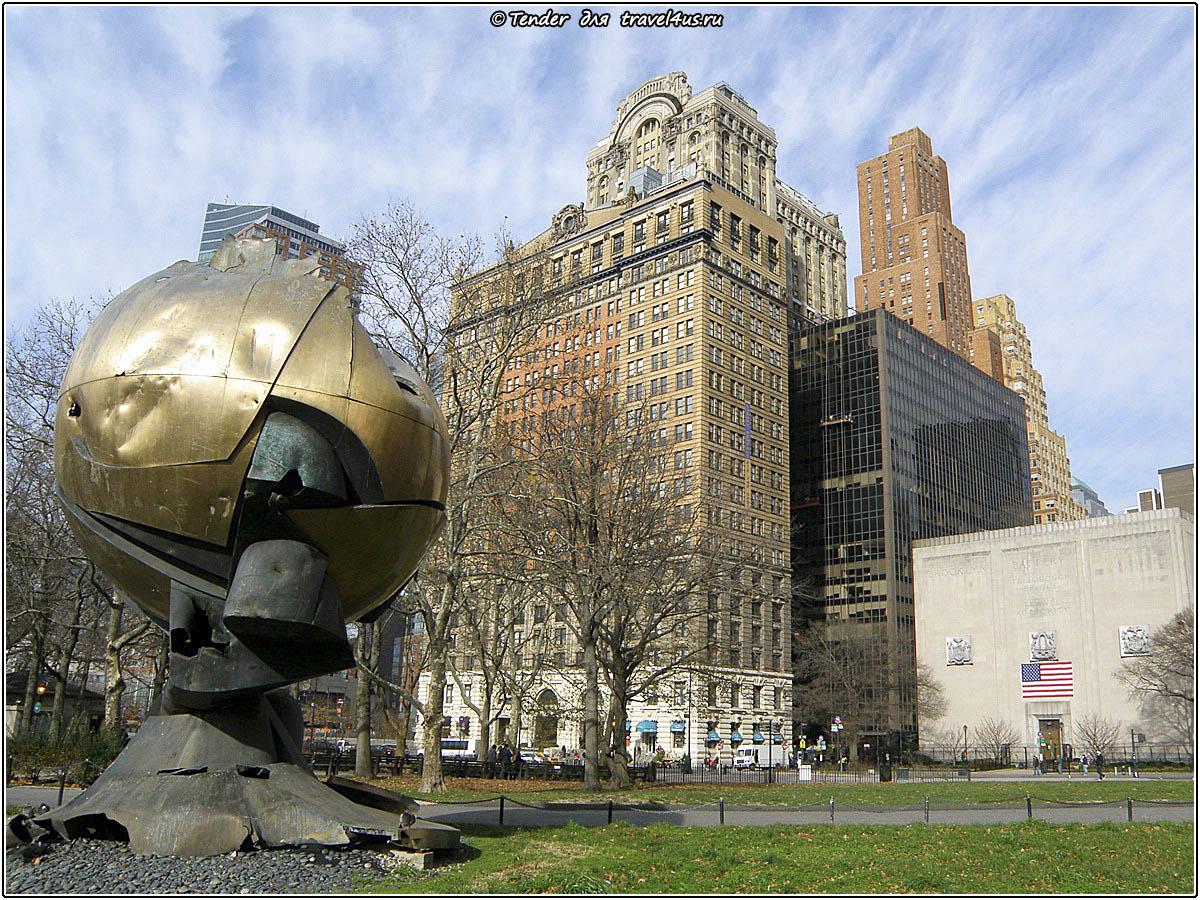 Разрушенный монумент