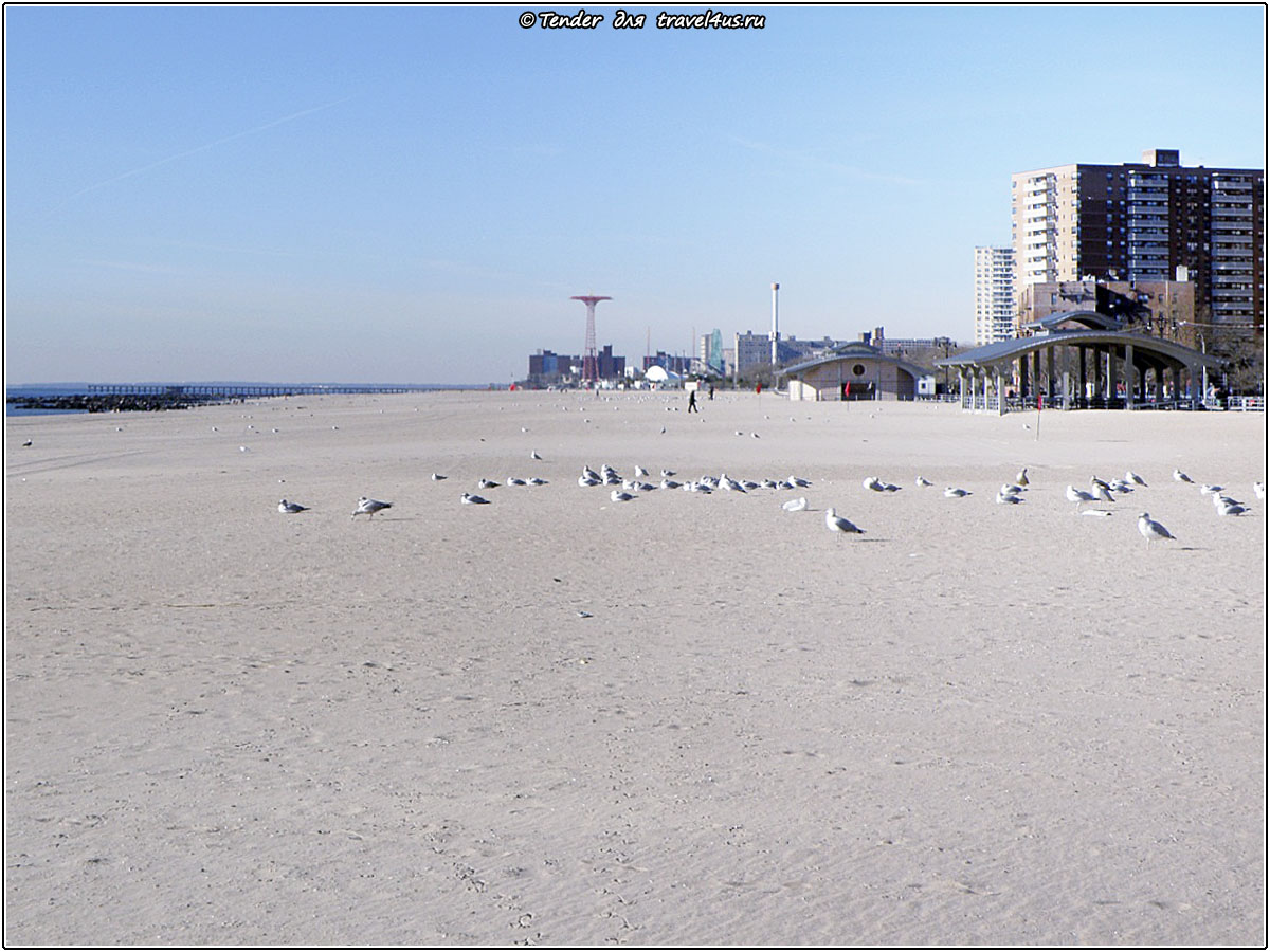 Пляж Brighton Beach