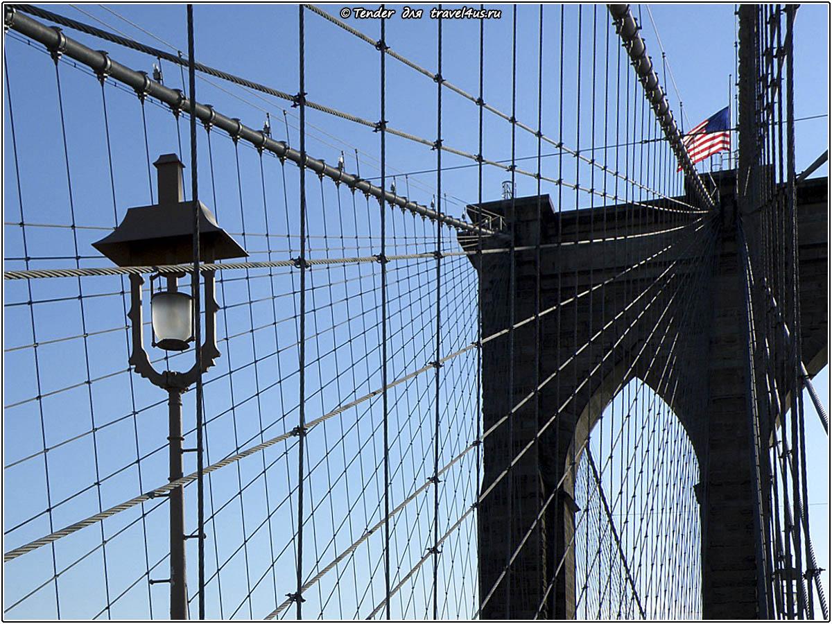 Подсветка Бруклинского моста