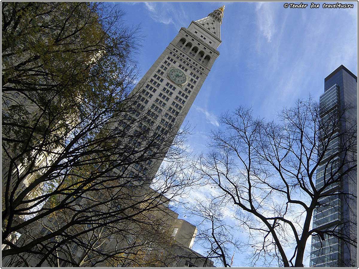 Башня в Нью-Йорке