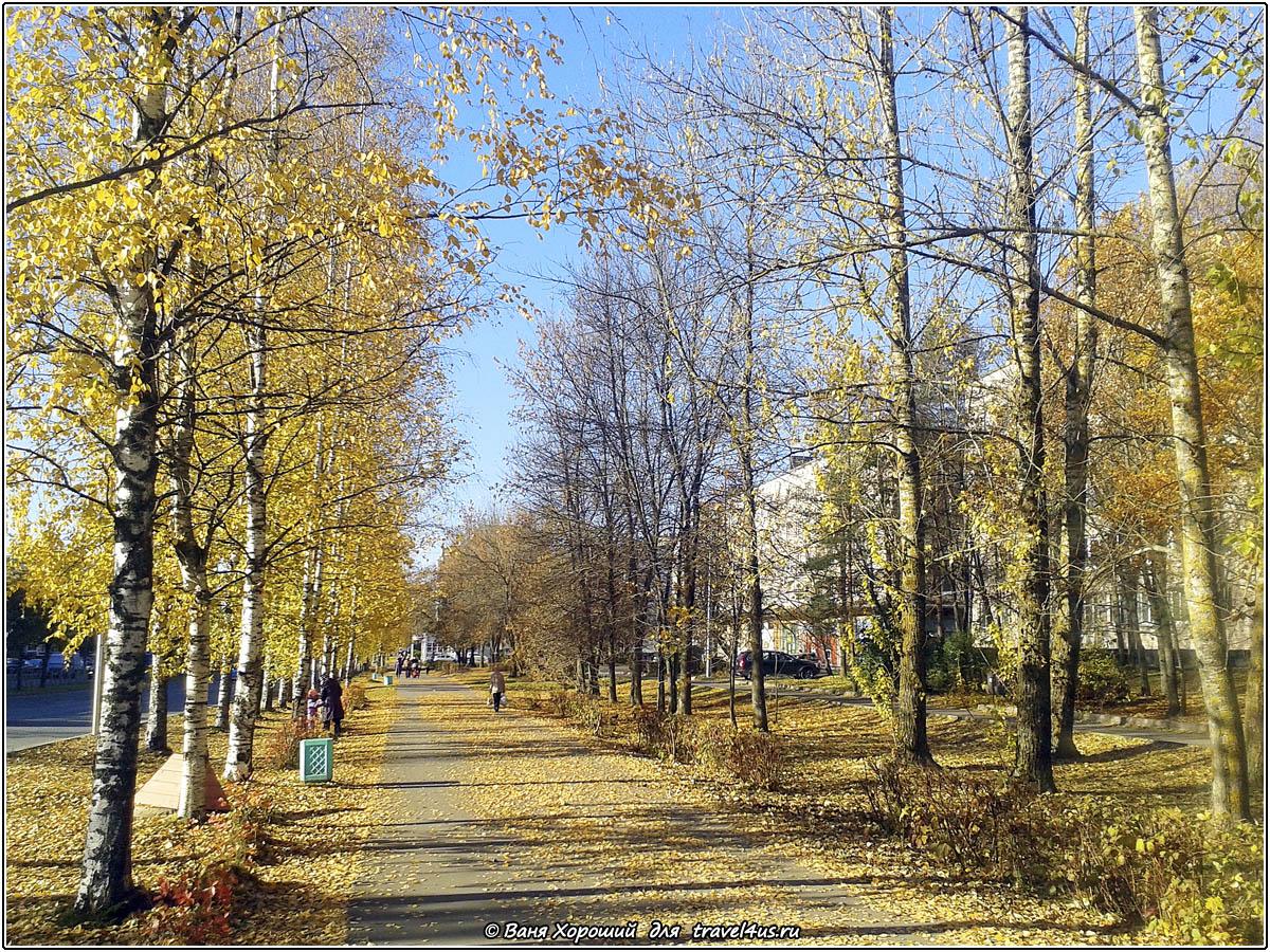 Осень в городе Кириши