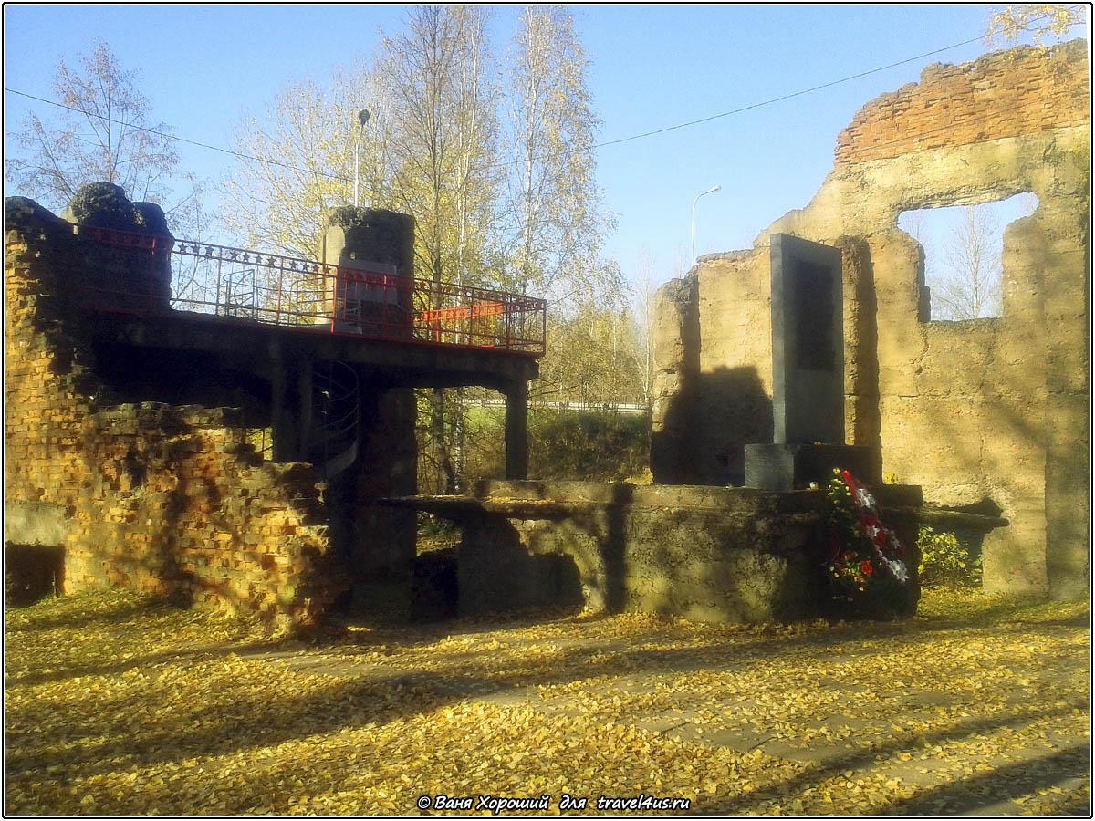 Мемориал в городе Кириши
