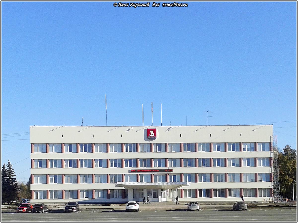Здание администрации города Кириши