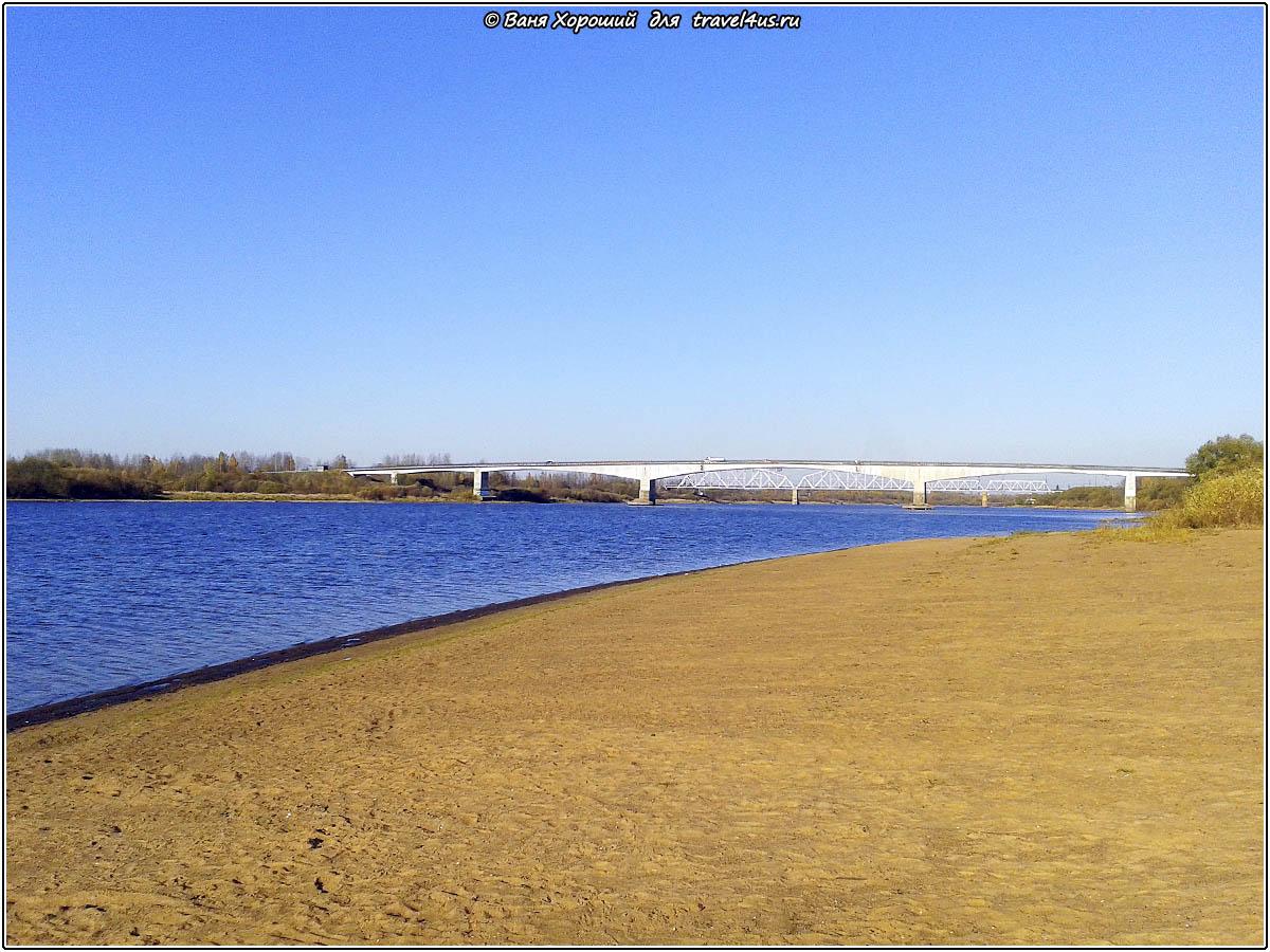 Мосты в городе Кириши