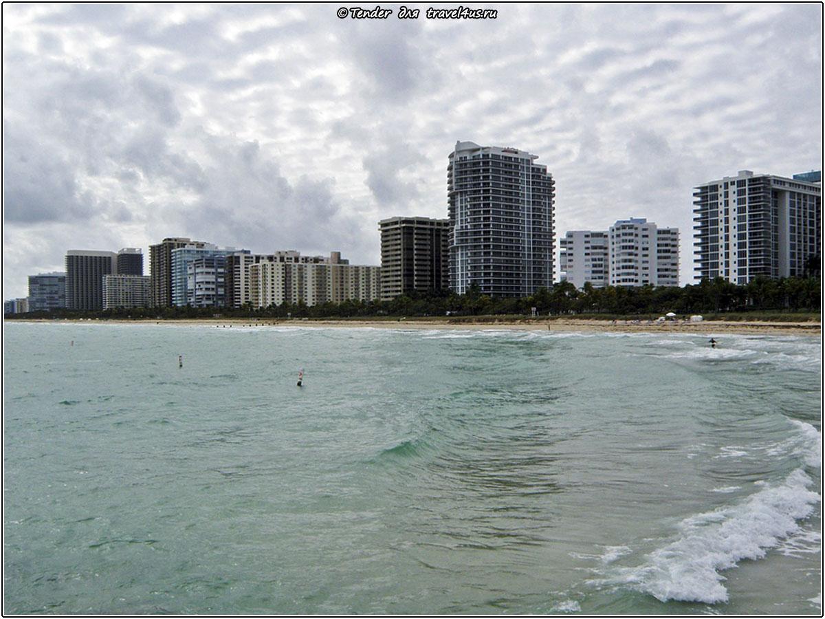 В Майами-Бич пасмурно