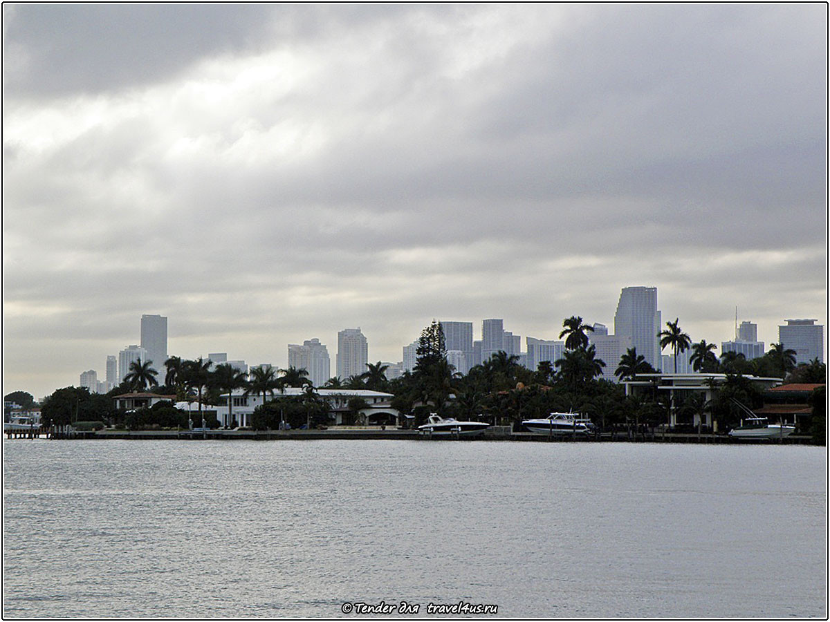 Вид на Майами