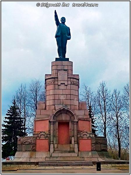 Памятник Владимиру Ильичу Ленину в Костроме