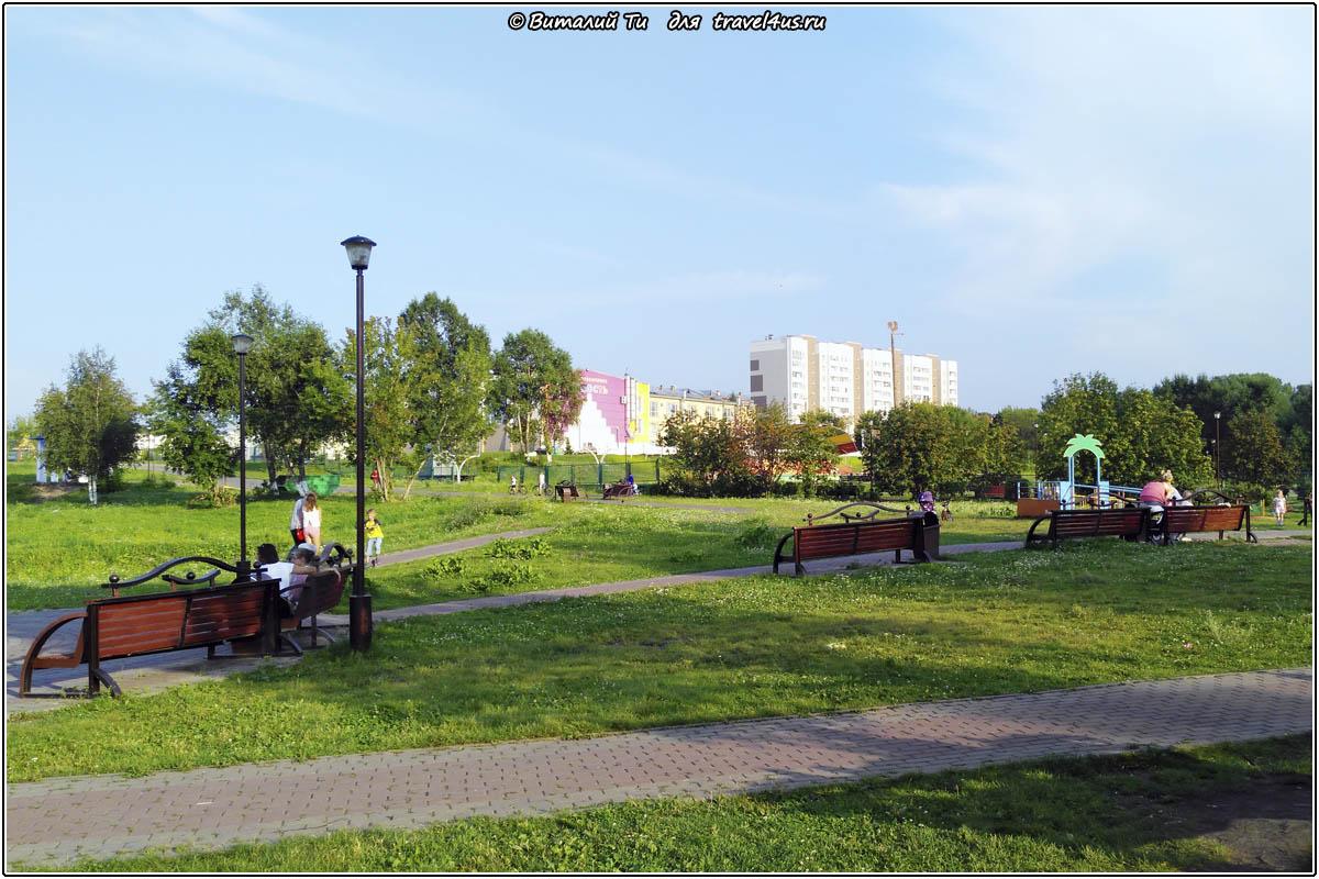 Центральный парк культуры и отдыха в Анжеро-Судженске