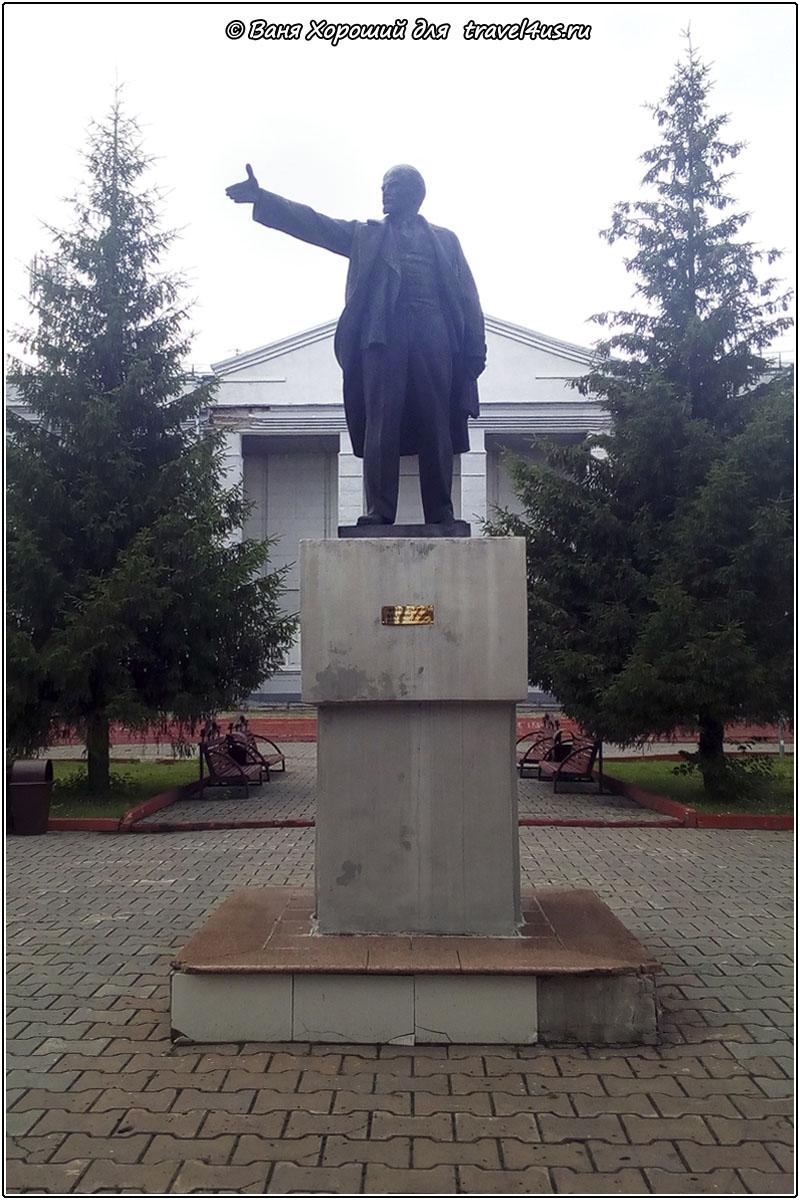 Памятник Ленину в Анжеро-Судженске