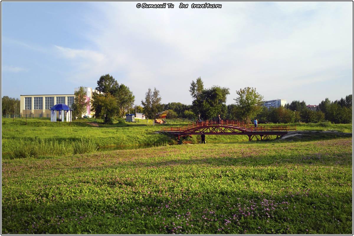 Парк в Анжеро-Судженске